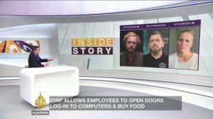 Aljazeera, intervju Clara Grelsson